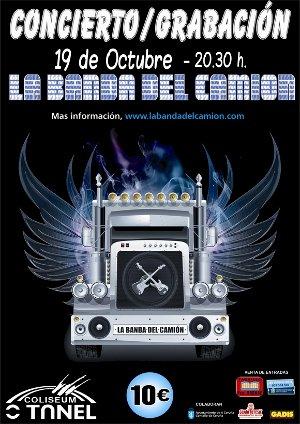 Concierto de La Banda del Camión en el Coliseum de A Coruña el 19 de octubre (Sala O Túnel)