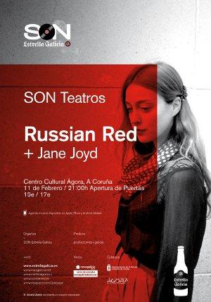 Concierto de Russian Red en el Ágora
