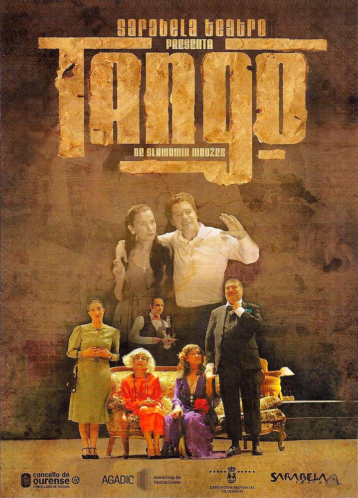 'Tango' en el Teatro Rosalía