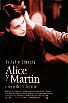 'Alice y Martín', ciclo de cine dedicado a André Techiné en el Fórum