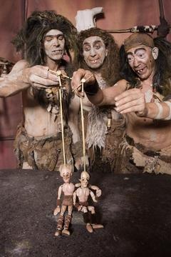 'Trogloditas', teatro infantil en el Fórum