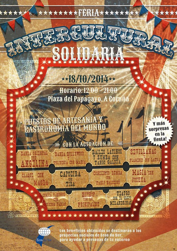 Fiesta Intercultural Solidaria. Ecos do Sur