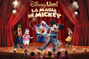 Disney Live! La Magia de Mickey en el Coliseum de A Coruña entre noviembre y diciembre