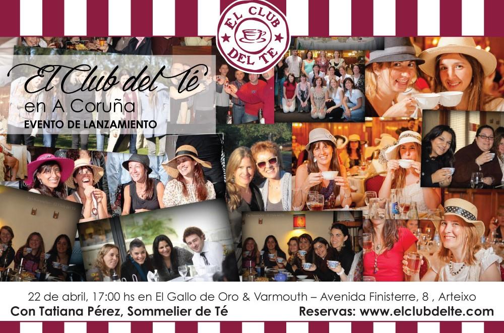 Evento de Lanzamiento de El Club del Té en A Coruña