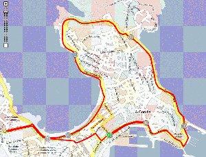 VI Carrera Popular A Coruña 10 el 7 de octubre de 2012