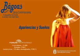 Espectáculo de Danza 'Apariencias y Sueños' en el Fórum a las 21 h
