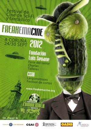 Freakemacine 2012 del 24 al 30 de septiembre en la Fundación Luis Seoane y el CGAI