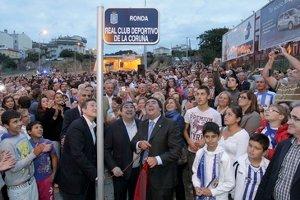 La Tercera Ronda llevará el nombre del Real Club Deportivo de La Coruña